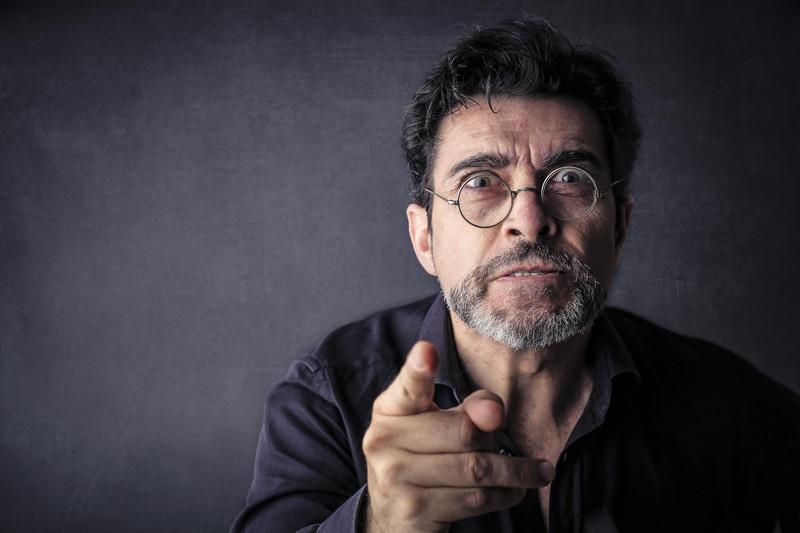 angry man divorce